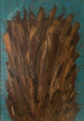 Expansion, 113 cm x 160 cm, Ölfarbe auf Nessel, 1989
