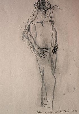 Clemens, 42 cm x 30 cm, Graphit auf Papier, 17.11.2003