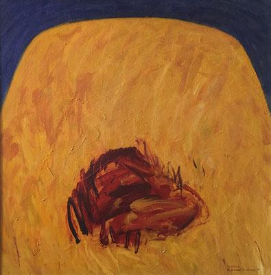 Le soleil, 100 cm x 100 cm, Acryl auf Nessel, 1994