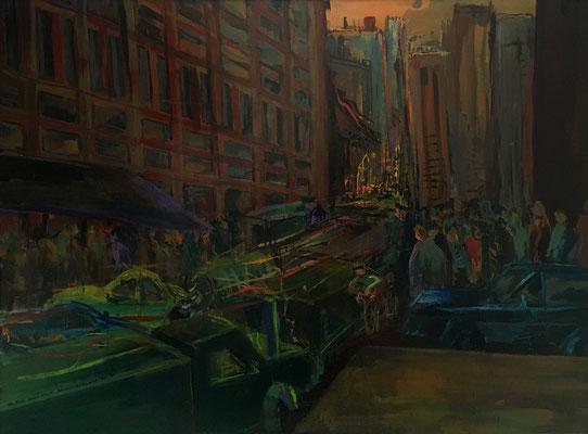 New York - Canal Street, 152 cm x 113 cm, 1-1987