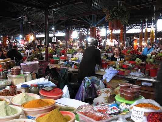 Markt in Kutaissi, Georgien; 25.10.2014