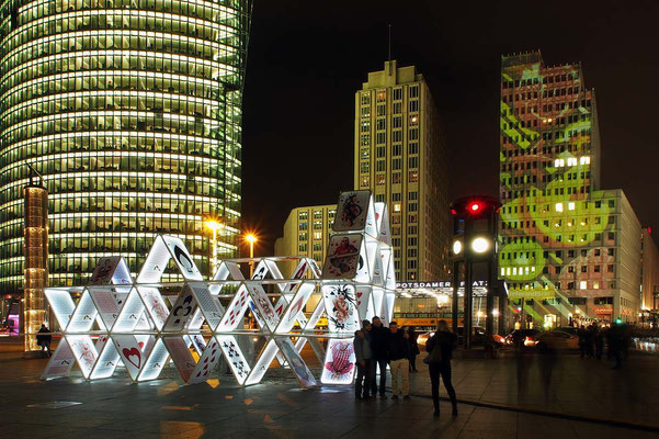 Potsdamer Platz, house of cards