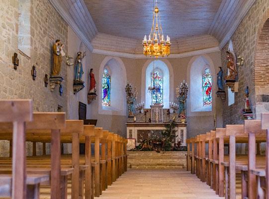 Eglise de Gibiniargues ©Raphaël Antic