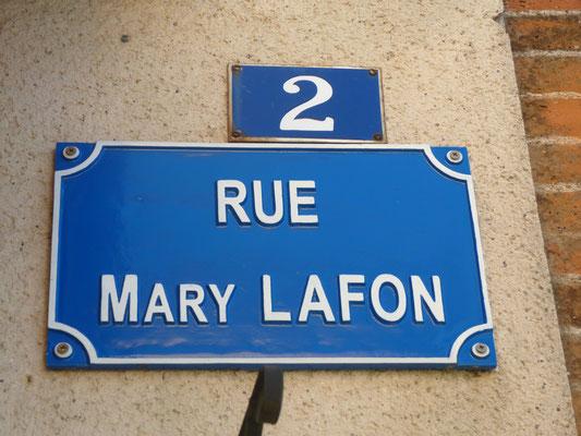 Rue Mary Lafon