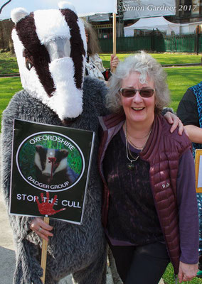Stop the badger cull in Oxfordshire