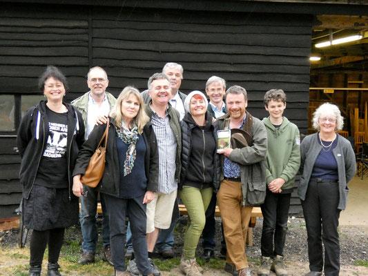 National Badger Day event at Wytham Woods