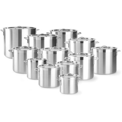 Aluminiumtöpfe in unterschiedlichen Größen erhältlich