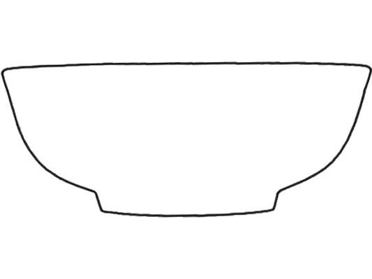 Darstellung Suppenschale ohne Rand