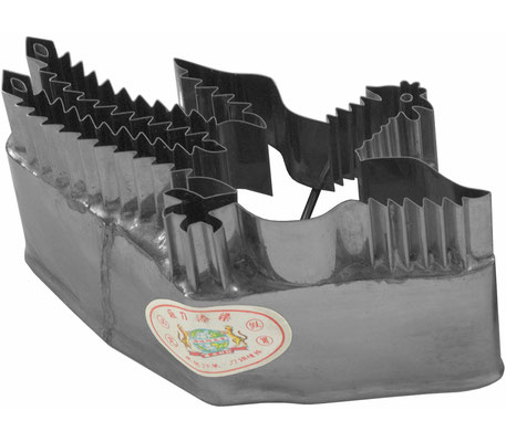 Ausstecher aus rostfreiem Stahl mit Phönix-Motiv zum Backen oder Dekorieren
