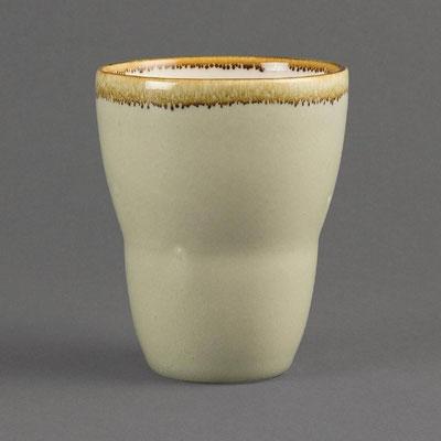 Teebecher Olympia Kiln aus handbemaltem Porzellan GP483. In verschiedenen Größen und Farben erhältlich.