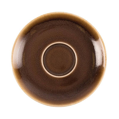 Espresso Untertasse GP361 Olympia Kiln aus handbemaltem Porzellan. In verschiedenen Größen und Farben erhältlich.