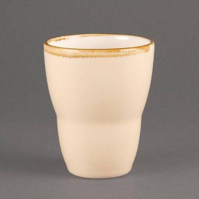 Teebecher Olympia Kiln aus handbemaltem Porzellan GP335. In verschiedenen Größen und Farben erhältlich.