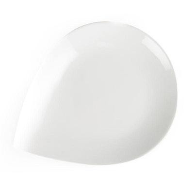 Whiteware Teller Halbmond in sehr robuster Qualität mit langer Lebensdauer