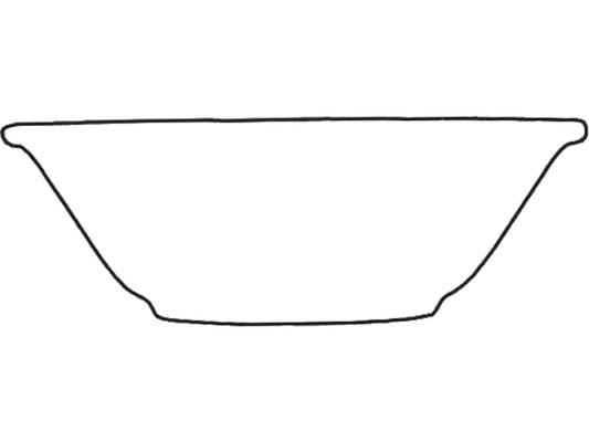 Darstellung Suppenschale mit Rand
