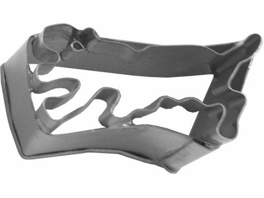 Ausstecher aus rostfreiem Stahl mit Tiger-Motiv zum Backen oder Dekorieren