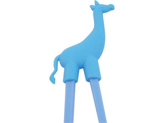 Lernstäbchen mit blauem Giraffen-Motiv
