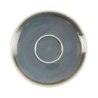 Kaffee Untertasse Olympia Kiln aus handbemaltem Porzellan GP347. In verschiedenen Farben erhältlich.