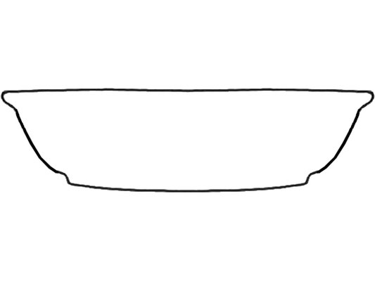 Darstellung Salatschale mit Rand