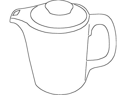 Darstellung Kaffeekanne