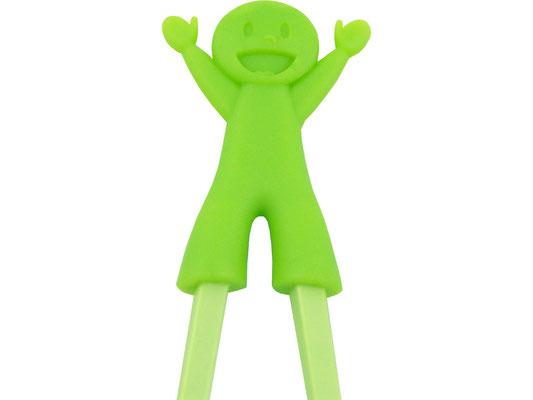 Lernstäbchen mit grünem Kinder-Motiv