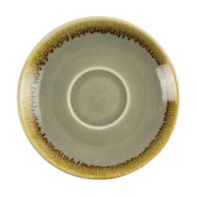 Espresso Untertasse GP477 Olympia Kiln aus handbemaltem Porzellan. In verschiedenen Größen und Farben erhältlich.