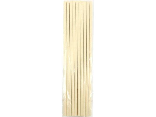 Die Stäbchen sind aus schadstofffreiem Material hergestellt und langlebig. Im praktischen 10er Vorteilspack erhältlich.