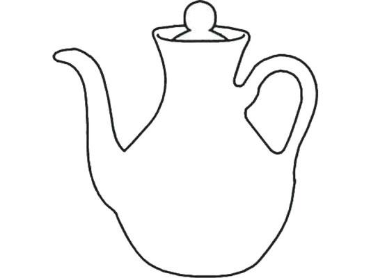Darstellung Kännchen für Soja oder Sake