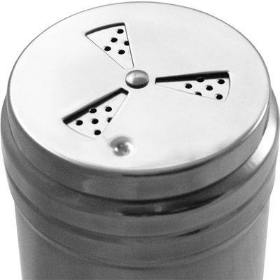 Schraubkappe mit kleinen Löchern für geringe Dosierung