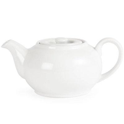 Whiteware Teekanne 0,85 Liter für bis zu 4 Tassen. Zeitloses Design für hohe Ansprüche.