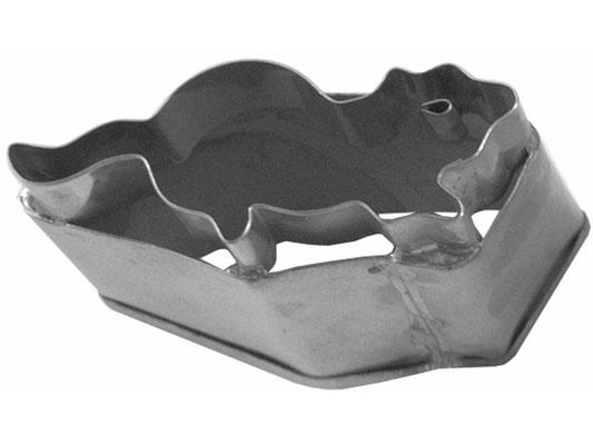 Ausstecher aus rostfreiem Stahl mit Maus-Motiv zum Backen oder Dekorieren