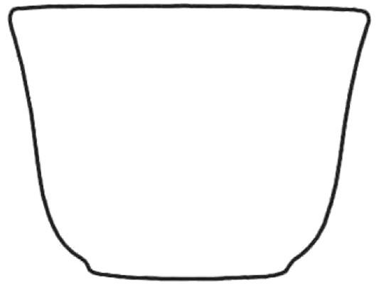 Darstellung Teetasse