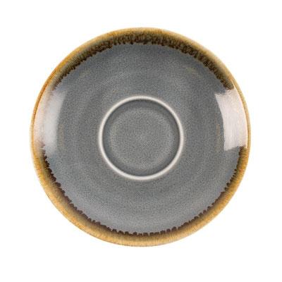 Espresso Untertasse GP345 Olympia Kiln aus handbemaltem Porzellan. In verschiedenen Größen und Farben erhältlich.