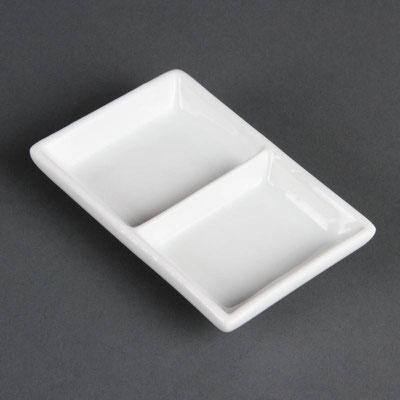 Präsentierschale Olympia aus weißem Porzellan C335.