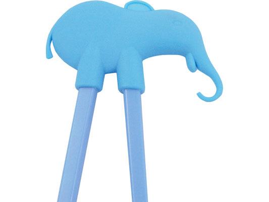 Lernstäbchen mit blauem Elefanten-Motiv