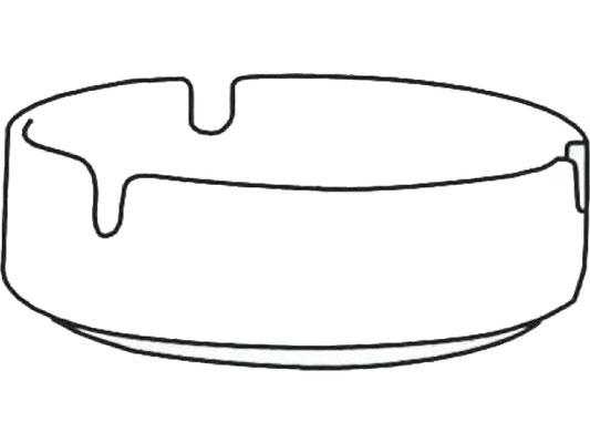 Darstellung: Aschenbecher