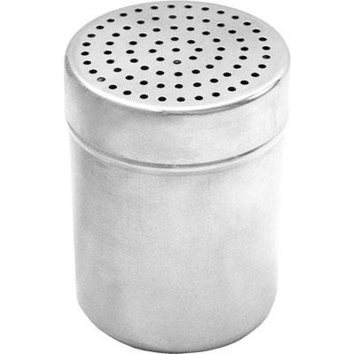 Salzstreuer aus Edelstahl mit abschraubbarer Kappe