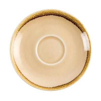 Kaffee Untertasse Olympia Kiln aus handbemaltem Porzellan GP331. In verschiedenen Farben erhältlich.