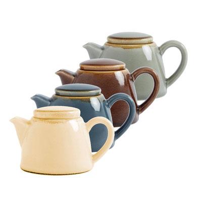 Teekanne Olympia Kiln aus handbemaltem Porzellan SA279. In verschiedenen Größen und Farben erhältlich.