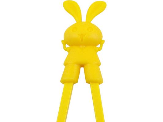 Lernstäbchen mit gelbem Hasen-Motiv