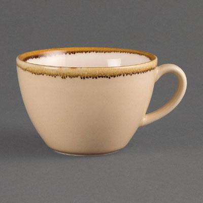 Kaffee Tasse Olympia Kiln aus handbemaltem Porzellan GP332. In verschiedenen Größen und Farben erhältlich.