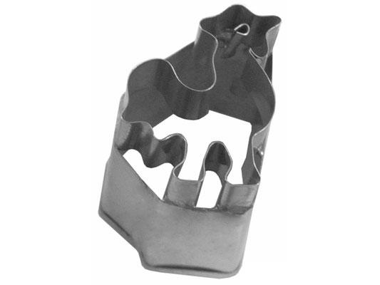 Ausstecher aus rostfreiem Stahl mit Hahn-Motiv zum Backen oder Dekorieren