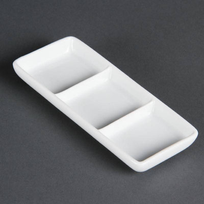 Präsentierschale Olympia aus weißem Porzellan C336.