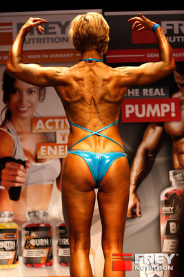 Deutsche Vize Meisterin 2016 Natural Bodybuilding