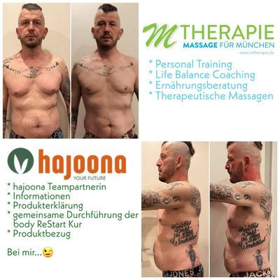 Ernährungsberatung M Therapie, Ernährungsberatung München, mit hajoona abnehmen, hajoona ReStart now