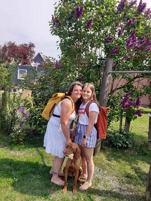 Rucksack für Mama und Tochter