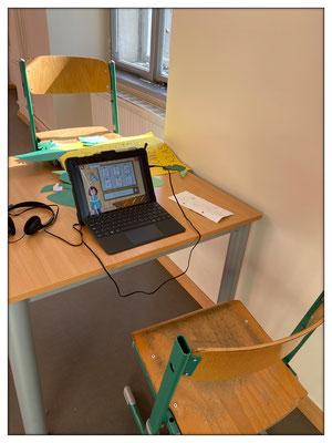 Digitales Lernen als Zusatzangebot im Unterricht.