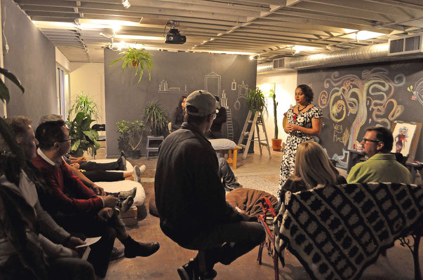 Tess Acevedo, Interactive Storytelling. Thoughts on Co-Living. © Konouz Saeed