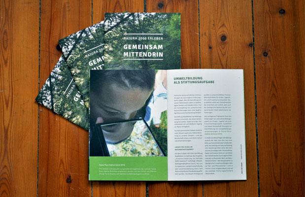 """Handlungsleitfaden für Umweltbildungsprojekte von """"NATURA 2000"""""""
