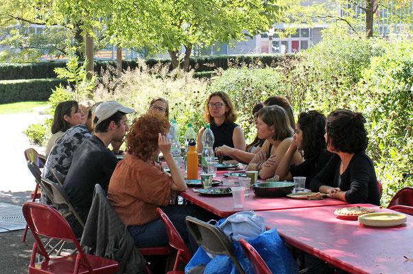 Millennium Park Lunch Talk (Chicago) © Tino Holzmann