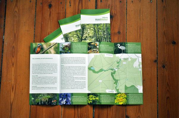 Infoflyer über das Naturschutzgebiet Nonnenfließ-Schwärzetal (NATURA 2000)